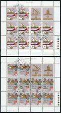 Malta 594 - 595 Kleinbogen gestempelt, Europa Geschichte Post Fernmeldewesen