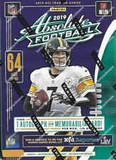 2019 PANINI Absolute NFL Football Sealed Blaster Box 8 Packs 64 Trading Cards