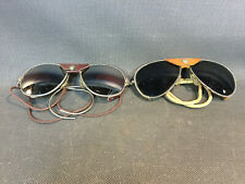 Batch Of 2 Old Pairs Of Glasses D'Alpine Solar Yannick Lord Vintage