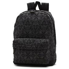 VANS - DEANA III 3 Womens Backpack (NEW) Black Charcoal SCHOOL BAG Free Shipping