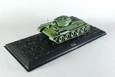 Scale model tank 1:72  T-34 SSSR 1943