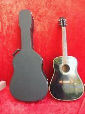 schöne , hochwertige Gitarre  , Washburn  , schwarz , mit hochwertigem Koffer