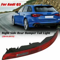 Right Side Rear Bumper Lower Tail Light Reverse Stop Lamp For AUDI Q3 2016-2018
