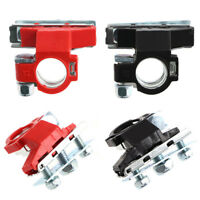 US Pair Heavy Duty Battery Terminal Car Vehicle Quick Connector Cable Clip Clamp