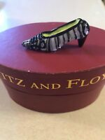 FITZ and FLOYD Glass Menagerie Manhattan Shoe