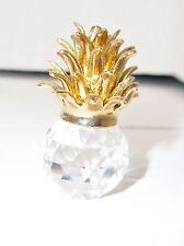 Iris Arc Crystal Pineapple w/ Gold Figurine Mint