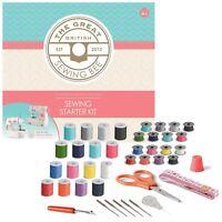 Beginner Great British Sewing Bee Starter Craft Sewing Make Kit 42 Pce Girl Boy