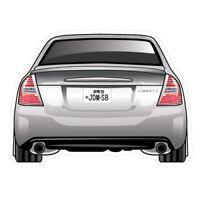 SUBARU LIBERTY 2003 JDM Sticker Decal Drift Jap Car  #0392K