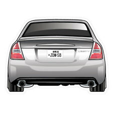 SUBARU LIBERTY 2003 JDM Sticker Decal Drift Jap Car  #0392K