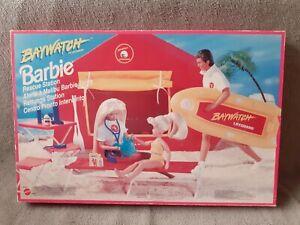 Accessoires Barbie Baywatch Alerte à Malibu Tente Rescue Station Mattel C-6 #2