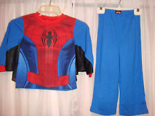 Spiderman boys kids red and blue 2 Piece Pajama Set-Size 2T-New