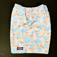 Vineyard Vines Swimwear Mens XL Swim Trunks Board Shorts Lined Blue Orange