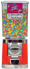 More details for new red retro commercial grade candy / sweet vending machine 20p coin operated