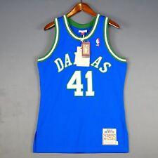 100% Authentic Dirk Nowitzki Mitchell & Ness 98 99 Mavericks Jersey Size 40 M