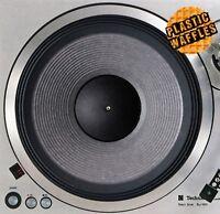"Woofer Speaker #2 Slipmat Turntable 12"" LP Record Player, DJ Audiophile"