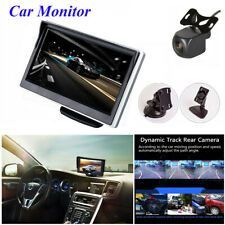 5 Inch TFT LCD Car Reverse Parking Monitor Screen with Dynamic Rear View Camera