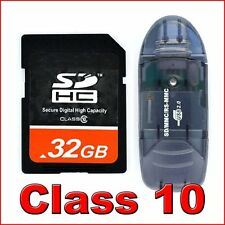 *32Go SD HC 32 Go Class 10 Secure Digital Memory Carte