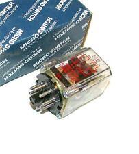 NEW HONEYWELL MICRO SWITCH RELAY 10 AMP 12 VDC COIL MODEL FES2443