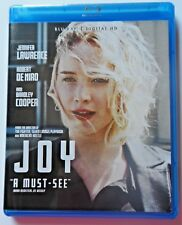 Joy (2015) Blu Ray Movie NEVER  VIEWED No Digital Code Jennifer Lawrence