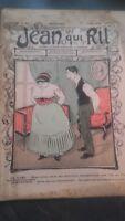 Rivista Jeans Che Rit N° 482 1910 Giornale Illustre che Appaiono Il Venerdì ABE
