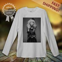 Courtney Love  Long Sleeve T-Shirt Men Women Unisex The Hole Rock Punk Nirvana