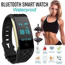 Waterproof S2 Heart Rate GPS Smart Bracelet Watch Wristband Sport Fitness Track