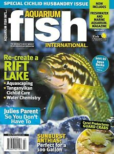 Aquarium Fish International Magazine Julies Parent Rift Lake Guard Crabs 2012