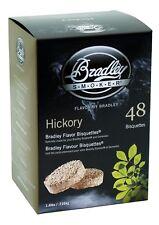 Bradley Smoker Bisquettes Hickory 48-Pack Smoking Wood Chips Natural Hardwood