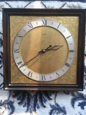 Wooden WALL CLOCK KIENZLE AUTOMATIC, Made in Germany, Retro