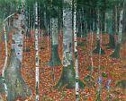 Print -     Birch Woods by Gustav Klimt