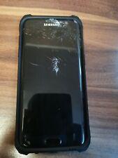 Samsung Galaxy S7 Edge  SM-G935F - (cracked screen)-32GB - Black Onyx (Unlocked)