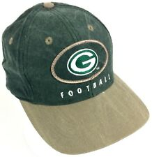 Green Bay Packers 🏈 Vintage 90s Distressed Game Day Rare Unique 1990s Hat/Cap