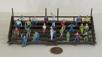 ho scale PEOPLE IN BLEACHERS & VENDORS for Model Train Layouts & Displays
