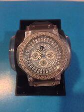 NEW TECHNO MASTER WHITE DIAMOND WATCH TM-2115