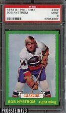 1973 O-Pee-Chee OPC Hockey #202 Bob Nystrom New York Islanders PSA 9 MINT