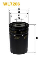 WIX WL7206 Filtro de Aceite - Spin-On Recambio W71914 PH6682 OC247