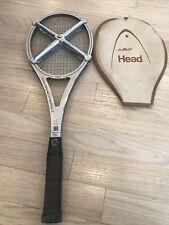 Amf Head Arthur Ashe Competition Boron Flex Usa Tennis Raquet 4 7/8 M grip