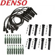 For Dodge Pickup 5.7L Hemi Tune Up Kit 16 Spark Plugs Ignition Wires & COP Boots