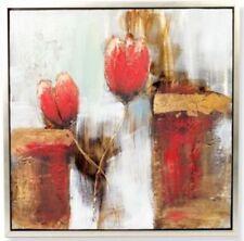 Zeitgenössische künstlerische Öl-Malerei mit Blumen, Früchte & Pflanzen-Motiv