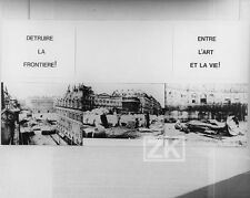 WOLF VOSTELL Fluxux DE-COLL/AGE Image Mot Art MORAIN Photo 1969