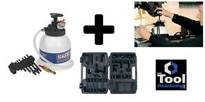 Transmission Fluid ATF Fluid Oil Filler Tool + Adaptor Set 20pce In Case