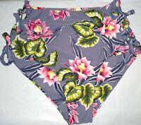 Tori Praver Swimwear High Waisted Woman's Bathing Suit Bottom Size Medium