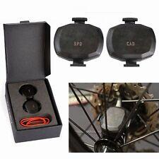2x Speed & Cadence Sensor Set Wireless Ant+ For Garmin Edge 510 520 810 820 1000