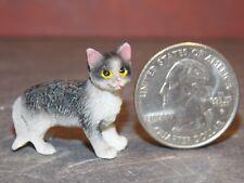 Dollhouse Miniature Pet Cat Shorthair Animals 1:12 scale G36  J Dollys Gallery