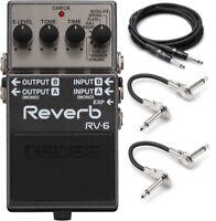New Boss RV-6 Digital Reverb Guitar Effects Pedal!!