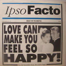 "IPSO FACTO Love Can Make You Feel So Happy 12"" PS"