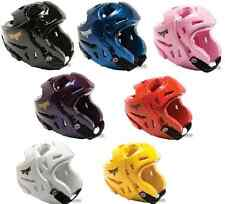 Double Layered Sparring Head Gear Helmet Guard Protecter Karate TKD Martial