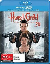 Hansel And Gretel - Witch Hunters 3D : NEW 3-D Blu-Ray + 2D Blu-Ray
