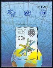 Hungría 1983 espacio/Radio Satelital/Plato/equipos/ITU/UPU 1 V M/S (n29627)