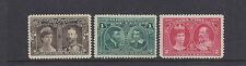 CANADA 1908 (SG 188-190 QUEBEC TERC. 3 values only) VF MNH